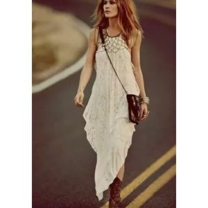 Free People Olympia Lace Dress in Ivory Medium